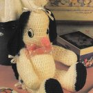 X567 Crochet PATTERN ONLY Easter Buddy Bunny Toy Doll Pattern