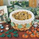 Y127 Crochet PATTERN ONLY Many Holiday Basket Decor Christmas Halloween Etc.