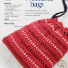 W153 Crochet PATTERN ONLY 2 Weekend Tote Bag Patterns
