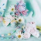 Y126 Crochet PATTERN ONLY 2 Styles Baby Sandles Pattern