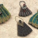 X074 Bead PATTERN ONLY Beaded Faux Knitting Purse Victorian Pattern
