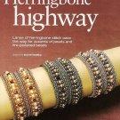 Y516 Bead PATTERN ONLY Beaded Herringbone Bracelet Pattern