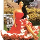 X509 Crochet PATTERN ONLY Senorita's Dress Fashion Dolls or Barbie Pattern