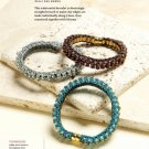 W109 Bead PATTERN ONLY Beaded Pearlescent Bracelet Pattern