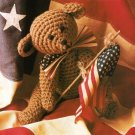X460 Crochet PATTERN ONLY American Teddy Bear Toy Doll Pattern