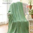 Y874 Crochet PATTERN ONLY Horizon Throw Afghan Pattern