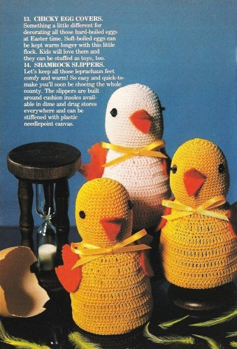 X300 Crochet PATTERN ONLY Chicken Egg Covers, Baby Bunting & Pillow Pattern