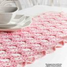 W337 Crochet PATTERN ONLY French Rose Connection Table Runner Pattern