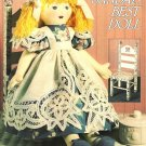 X136 Sewing PATTERN ONLY Battenberg Lace Soft Body Doll and Clothes Pattern