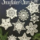 X711 Crochet PATTERN ONLY Snowflakes & Stars Christmas Ornament