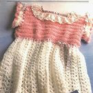 X548 Crochet PATTERN ONLY Little Girl's Easter Dress Pattern
