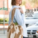 X058 Crochet PATTERN ONLY Market Bag Satchel Tote Pattern & Bonus