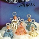 Y455 Bead PATTERN Book ONLY Beaded Heavenly Angels Christmas Ornaments Vintage