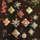 X835 Knit Crochet Cross Stitch PATTERN Book ONLY Holiday Christmas Ornaments