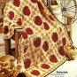Y390 Crochet PATTERN ONLY Apple Harvest Afghan Pattern