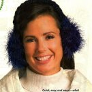 X639 Crochet PATTERN ONLY Earmuffs & Easy Shrug