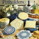Y411 Crochet PATTERN Book ONLY Pretty Crocheted Potholders Thread Crochet