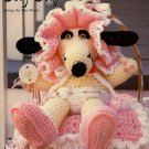 Y731 Crochet PATTERN ONLY Little Orphan Art Arf Toy Doll Dog Pattern