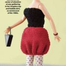 Y839 Crochet PATTERN ONLY 1980's Life of the Party Fashion Doll Period Outfit