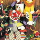 X910 Plastic Canvas PATTERN ONLY Sock Circus Pals Pattern