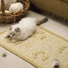 Y876 Crochet PATTERN ONLY Kitty Cat Rescue Rug & Ball Pattern Set