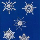 Y449 Crochet PATTERN ONLY Pocket Full of Snowflakes Book 9 Christmas Ornaments