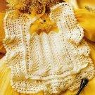 X534 Crochet PATTERN ONLY Antique Look Baby Bib Pattern