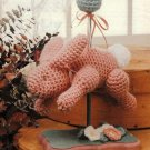 X742 Crochet PATTERN ONLY Carousel Rabbit Toy Doll Bunny