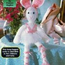 Y152 Crochet PATTERN ONLY Ballerina Bunny Toy Doll Rabbit
