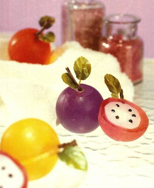 Y502 Soap Making PATTERN ONLY How to Make Fun �n Fruity Soaps Instructions