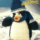 X850 Crochet PATTERN ONLY Breezy Penguin Doll Toy Pattern