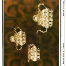 X492 Bead PATTERN Book ONLY Beaded Fantasies Book III Christmas Ornament