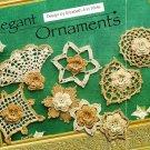 X686 Crochet PATTERN ONLY 8 Elegant Christmas Ornaments Fan Heart Flower
