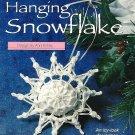 X710 Crochet PATTERN ONLY Snowflake Sachet Christmas Ornament