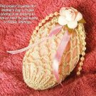 X204 Crochet PATTERN ONLY Oval Soap Sachet Pattern