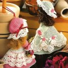 X895 Crochet PATTERN ONLY 2 Broom Dolls Pattern