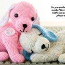 X250 Crochet PATTERN ONLY 2 Puppy Love Stuffed Animal Toy Pattern & Bonus