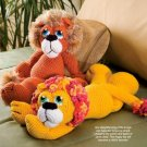 X031 Crochet PATTERN ONLY King of the Jungle Lion Doll Toy Pattern