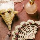 Y970 Crochet PATTERN ONLY Victorian Fan & Cone Christmas Ornament or Decor Patte