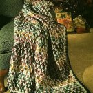 Y724 Crochet PATTERN ONLY Warm Wishes and Favorit Colors Afghan Throw Patterns