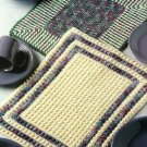 Y086 Crochet PATTERN ONLY 2 Styles of Popcorn Place Mats Placemats