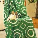 Y500 Crochet PATTERN ONLY Fresh as Spring Afghan Pattern