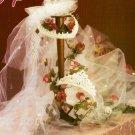 Y167 Crochet PATTERN ONLY 2 Bridal Headpiece Wedding Bride Crown Tiara