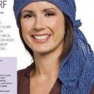 Y021 Crochet PATTERN ONLY Classic Three Way Gypsy Scarf