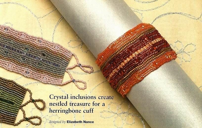 Y799 Bead PATTERN ONLY Beaded Splash of Sparkle Bracelet Pattern