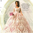 X810 Crochet PATTERN ONLY Fashion Doll Wedding Gown Pattern Barbie