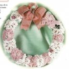 X644 Crochet PATTERN ONLY It's a Girl and It's a Boy Baby Announcement Wreath
