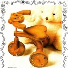 Y893 Woodworking PATTERN ONLY Teddy Bear Tricycle Trike for Doll Pattern