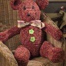 Y830 Crochet PATTERN ONLY Toasty Teddy Bear Doll Toy Pattern