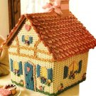 Y265 Crochet PATTERN ONLY Gingerbread House Cottage Pattern